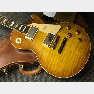 Gibson Custom Shop 60th Anniversary 1959 Les Paul Standard VOS Indian Rosewood (#991673) Golden Poppy Burst