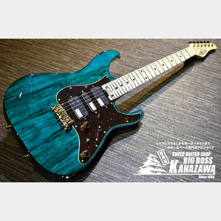 SCHECTER SD-2-24-VTR-SP/OGR/M【限定生産!スポルテッドメイプルTOP!】