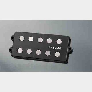 Delano PickupMC-AL pickup series MM style 5 string pickups AlNiCo 5 magnets MC 5 AL dual coil humbucker