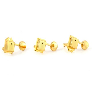 ALLPARTS TUNER 7003 GOTOH 6-in-line Staggered Keys Gold ペグ
