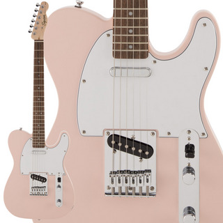 Squier by Fender FSR Affinity Series Shell Pink エレキギター