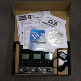 ZOOM G3 Guitar Effects & Amp Simulator / FP02 セット