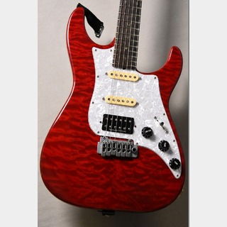 James Tyler 【USED】USA Studio Elite Quilt Maple Bent Top Transparent Red 1998年製【駅前店】