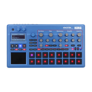 KORG ELECTRIBE2-BL MUSIC PRODUCTION STATION エレクトライブ