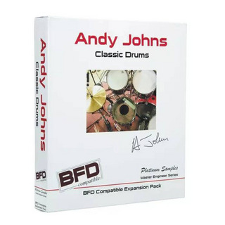 Platinum SamplesAndy Johns Classic Drums for BFD【1本限定特価!送料無料!】