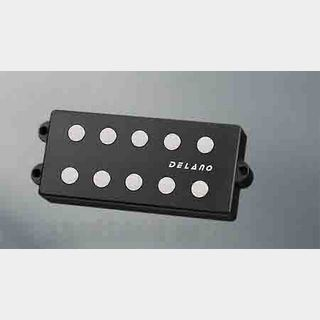 Delano Pickup MM style 5 9,5 mm ferrite  MC 5 FE /J double twin coil in-line humcanceller  (quad coil )