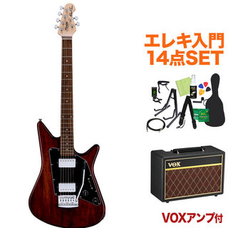 Sterling by MUSIC MAN ALBERT LEE SIGNATURE TWN エレキ初心者14点セット【VOXアンプ付き】