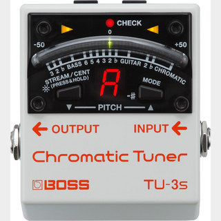 BOSS TU-3S Chromatic Tuner【安心の5年保証つき!!】