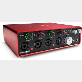 Focusrite Scarlett 18i8 (2nd Gen) /  18イン/8アウト 24bit/192kHz