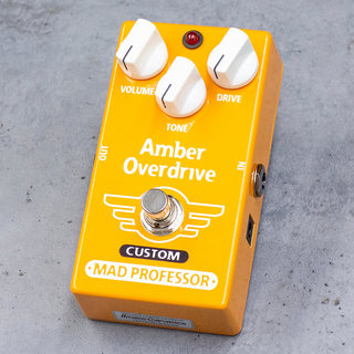 "MAD PROFESSOR Amber Overdrive ""For Bass"" MOD【数量限定特価】"