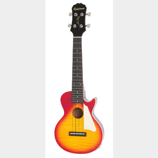 Epiphone Les Paul Acoustic/Electric Concert Ukulele Heritage Cherry Sunburst  【WEBSHOP】