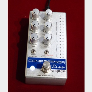 Empress Effects Bass Compressor Silver 【新製品】