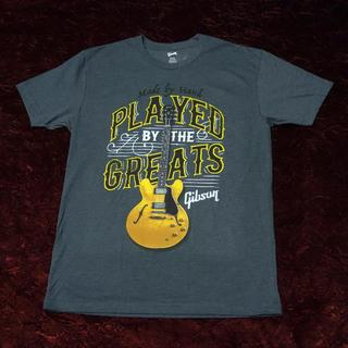 Gibson Played By The Greats Tシャツ  Charcoal