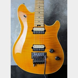 PEAVEY USA EVH Wolfgang Standard Flame Maple Trans Amber