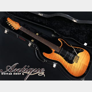 "Marchione Vintage Tremolo '12年製 Amber Burst w/ Figured Maple Matching Head & Neck 3.1kg ""Crystal Sound"""