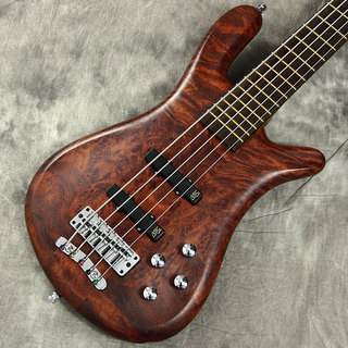 "Warwick Custom Shop Streamer LX 5st ""Bubinga Pommele body"" Natural Oil Finish【新宿店】"