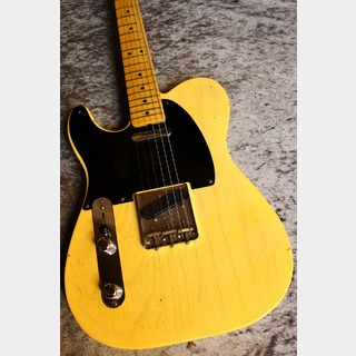 Fender Custom Shop Namm Limited Edition 1951 Telecaster Left Hand Journeyman Relic Faded Nocaster Blonde #R100175