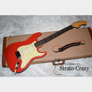 "Fender Stratocaster '59 Red/Slab Rose neck ""Full original/Super rare!!"""