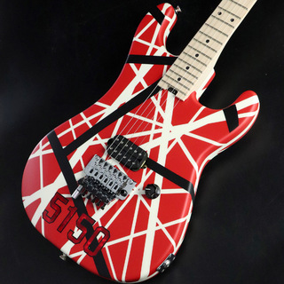 EVHStriped Series 5150 Red, Black and White Stripes 【S/N:EVH1800190】【心斎橋店】