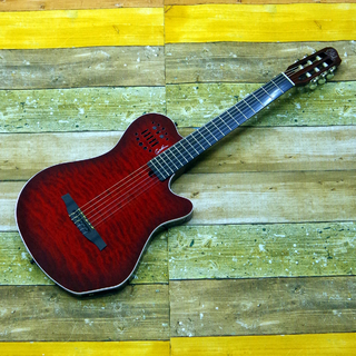 Godin ACS Grand Concert Quilt/Trans Red Limited 限定20本モデル
