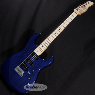James Tyler Japan Studio Elite HD Rear Route Ash/Maple/Trans Royal Blue【SN.J9186】