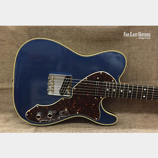 Zeus Custom Guitars ZTL-TH Joe Barden Black & Blue Metallic