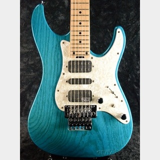 SCHECTER EX-V-24-STD-FRT -Indigo Light Blue- 2014年製