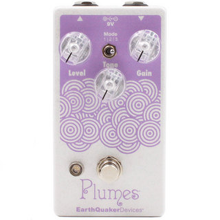 Earth Quaker Devices Plumes Pearl White/Pastel Purple 【IKEBE ORDER COLOR】【動画有り】