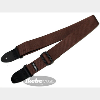 Jim DunlopRibbed Cotton Strap Chocolate (D27-01BR)【特価】 【衝撃の50%OFF】