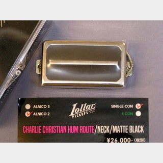 LOLLAR PICKUPS CHARLIE CHRISTIAN HUM ROUTE NECK
