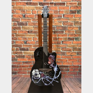 Ovation DJ Ashba Limited Edition Demented Series DJA34-BDY 【中古美品】