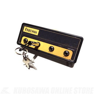 "Pluginz FRIEDMAN Jack Rack- ""BE-100"" with 4 keychains 《アンプ型キーチェーン》"