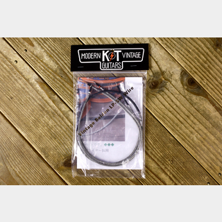 "K&T MODERN VINTAGE GUITARS VINTAGE BELDEN Braided Shield Wire ""LP Vintage Wiring Kit"""