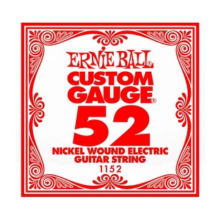 ERNIE BALL 1152 NICKEL WOUND 052 エレキギター用バラ弦