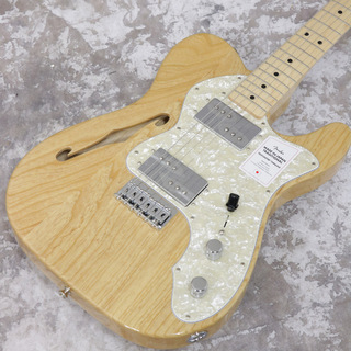 Fender Made in Japan Traditional 70s Telecaster Thinline Natural 【2.69kg】【S/N JD20015662】【池袋店】