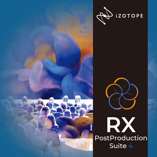 iZotope RX Post Production Suite4 (RX7 Ad/ Dialogue Match/ Neutron3 Ad..etc) [ダウンロード版]