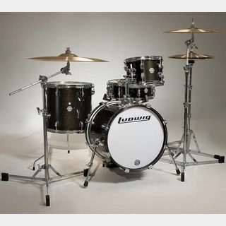 "Ludwig LC179X016 [BREAKBEATS OUT FIT / AHIMIR ""?UESTLOVE"" THOMPSON Collaboration (Black Gold Sparkle)]"