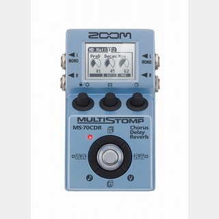 ZOOM MS-70CDR 【MultiStomp Chorus / Delay / Reverb Pedal】