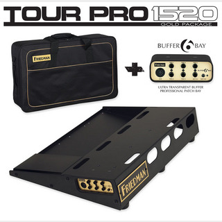 "Friedman TOUR PRO 1520 ""GOLD PACK"" [Pedal Board(S) & Carry Bag & Buffer Bay 6] 【お取り寄せ品。】"