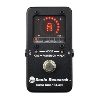 Sonic Research ST-300 Turbo Tuner ペダルチューナー
