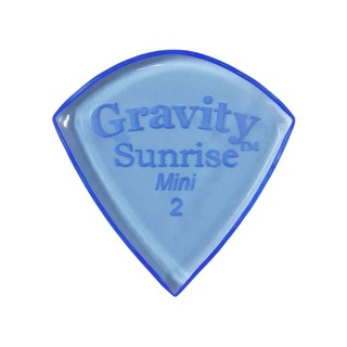 Gravity Guitar Picks sunrise -Mini- GSUM2P 2.0mm Blue ピック