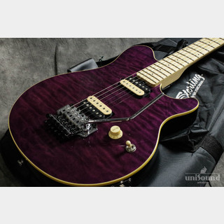 Sterling by MUSIC MAN AX40D-TP/M (Transparent Purple)
