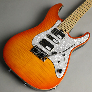 SCHECTER L-SD-2-24-FM-VTR/M	Lemon Drop Sunburst【オーダーモデル】