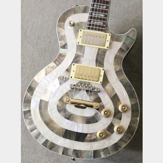 Antonio Tsai Les Paul Type【4.33kg】【豪華なインレイ】