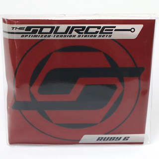 THE STRING SOURCERUBY 6 STANDARD (12-56)