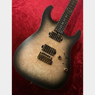 T's Guitars DST-Pro 24 Mahogany Limited Reverse Head Custom -Natural Black Burst-【分割48回まで金利無料】