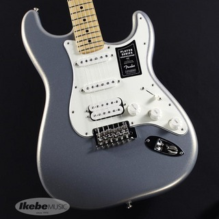 FenderPlayer Stratocaster HSS (Silver/Maple) [Made In Mexico]