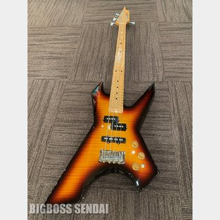 Killer KB-IMPULSS FLAME TOP '17 #3 Tone Sunburst (Short Scale)