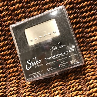 Suhr T-Bucker Thornbucker Bridge 50mm Raw Nickel【正規輸入品】即納可能!
