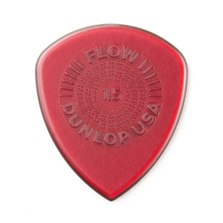 Jim Dunlop FLOW STANDARD PICK 549R150 1.5mm ギターピック×12枚